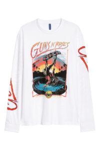 岸優太くんの私服・Guns N Roses
