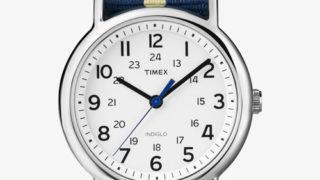 ドロ刑 第三話で中島健人 衣装 時計・TIMEX ウィークエンダー セントラルパーク ネイビー/ホワイト
