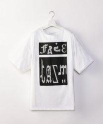 10/19 ザ少年倶楽部プレミアムで増田貴久さん着用の私服Tシャツ FACETASM FACETASM BIG TEE