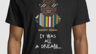 ヒルナンデス 有岡大貴 衣装 10/30 Mostly Heard Rarely Seen Men's It Was All A Dream Biggie Smalls Graphic T-Shirt