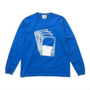 二宮和也 VS嵐 10/25 衣装  Son of a cheese Face commu sleeve(BLUE)