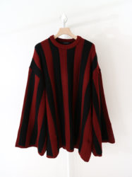 山下智久 UNLEASHED 衣装 ALMOSTBLACK OVER SIZE KNIT
