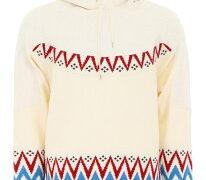 佐藤勝利 すっぴんKISS からくりだらけのテンダネス ジャケ写衣装 Sacai サカイ フリース OFF WHITE ECRU|Bianc Nordic Hoodie