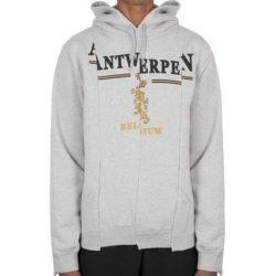 千賀健永 私服 パーカー VETEMENTS Antwerpen hoodie パーカー