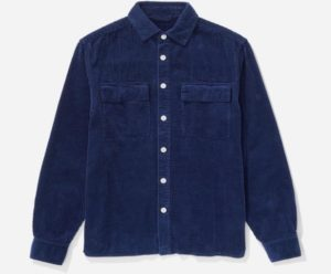 11/22 VS嵐 相葉雅紀 衣装 Saturdays NYC Magnus Heavy Corduroy Long Sleeve Shirt