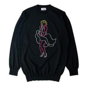 藤ヶ谷太輔 衣装 Myojo AS STANDARD アズスタンダード Neon Girl Knit Sweater