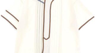 12/5 すっぴんKISS からくりだらけのテンダネス 菊池風磨 衣装 FACETASM MIX BASEBALL SHIRT / WH