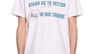 KAT-TUN 中丸雄一 私服 RIDE ON TIMESacai Stasis as to Vector All in Due Course Tシャツ