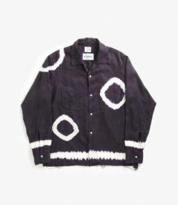 12/8 松本潤 嵐にしやがれ 衣装 ニードルズ×NOMA t.d Classic Shirt - Tie Dye