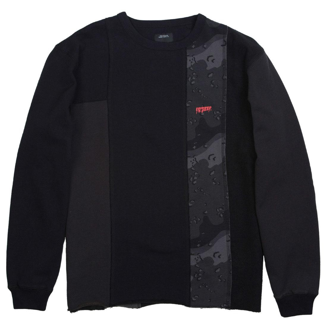 10 DE高橋海人 私服 10DEEP テンディープ MEN UNIFICATION CHOPPED CREWNECK SWEATER