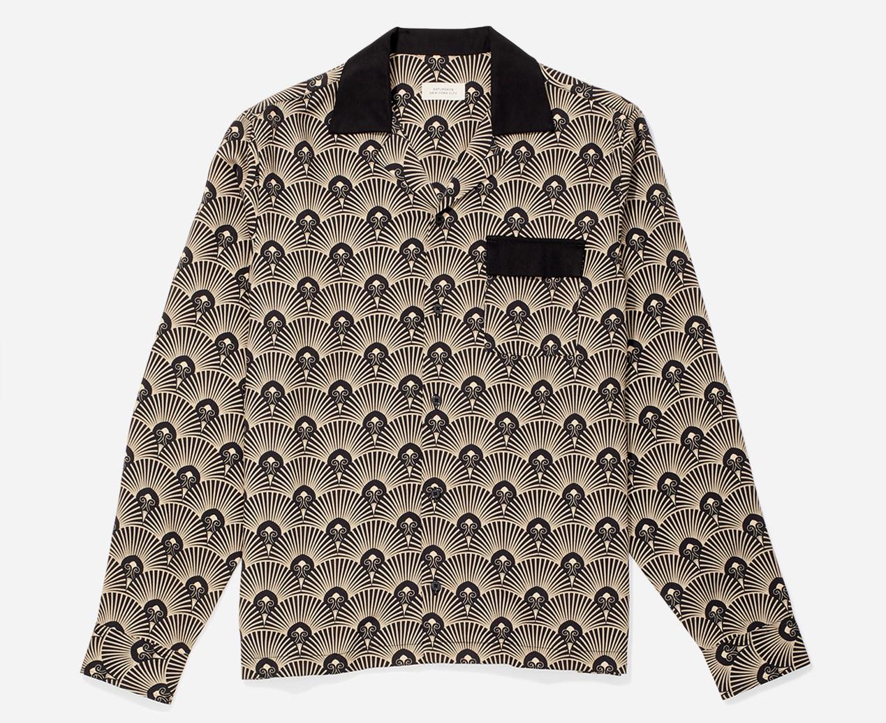 月刊ザテレビジョン 松本潤 衣装 Diego Deco Long Sleeve Shirt