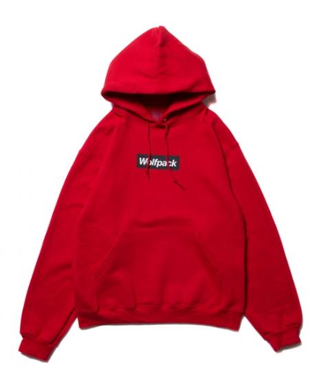 ヒルナンデス 八乙女光 衣装 ROTTWEILER ロットワイラー / パーカ BOX WOLFPACK PARKA 【RED】