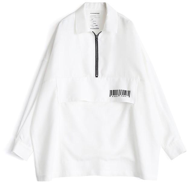 伊野尾慧 メレンゲの気持ち 衣装 SHAREEF ハーフジップシャツ