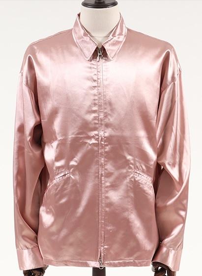 二宮和也 VS嵐 4/4 衣装 CAMBIO mj5357-Loose Satin Drezler Jacket ジャケット