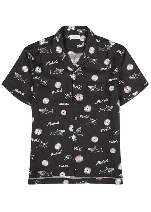 嵐にしやがれ 櫻井翔 衣装 3/30 シャツ John Elliott