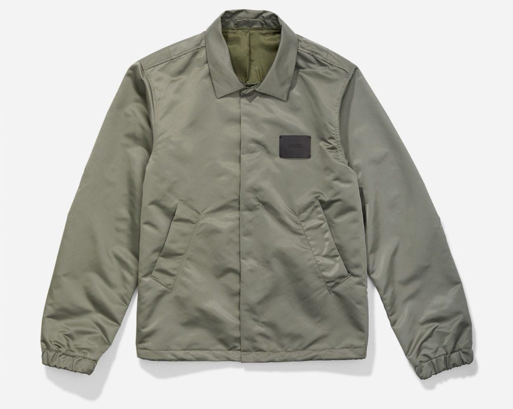 松本潤 4/25 VS嵐 衣装 Cooper Satin Jacket Olive Saturdays NYC