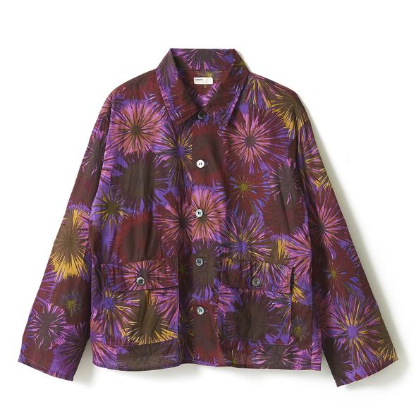 松本潤 VS嵐 衣装 5/23 NAISSANCE Flower Pattern Shirt Jacket