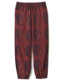VS嵐 5/23 櫻井翔 衣装 NAISSANCE Organic Dyed Paisley Wide Pants / RED