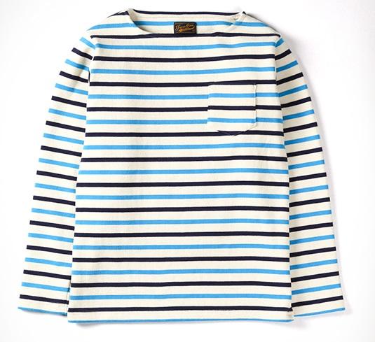 大野智 VS嵐 5/11 衣装 バスクボーダーシャツ スーパーハードリブ