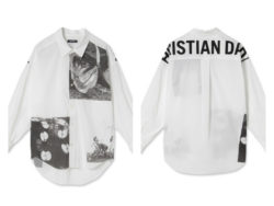 山田涼介 私服 duet 7月号 CHRISTIAN DADA(クリスチャン ダダ) Cotton Lawn Print Shirt