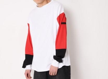 相葉雅紀 VS嵐 8/8 衣装 SUPERTHANKS スウィッチングビックロングTシャツ
