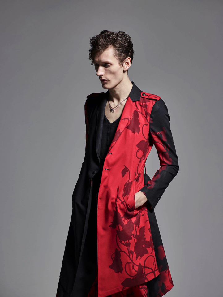 二宮和也 THE MUSIC DAY 7/6 衣装 kiryuyrik(キリュウキリュウ) Flair Jacket / プリントフレアジャケット