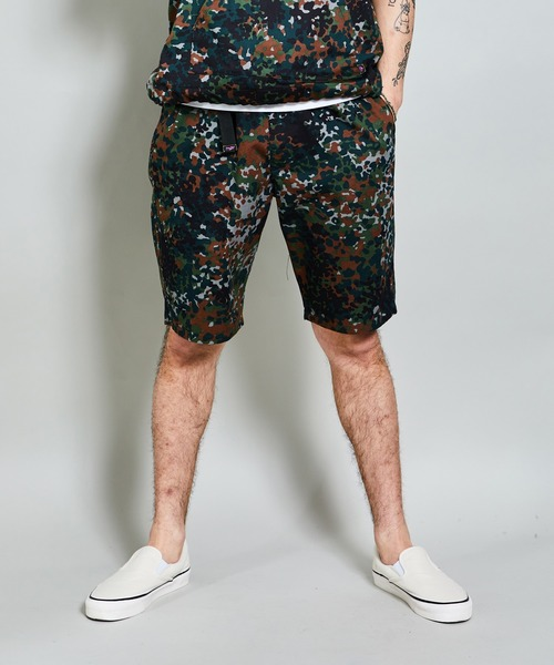 二宮和也 VS嵐 7/18 衣装 ROTAR ( ローター ) / German Fleck Camo Easy Shorts