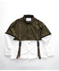 櫻井翔 VS嵐 8/8 衣装 SUPERTHANKS スウィッチングレイヤードシャツ