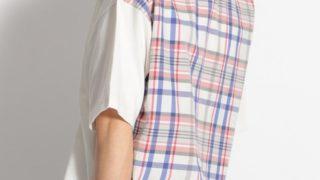 渡辺翔太 衣装 簡単なお仕事です 7/22 niko and... 布帛柄使いTシャツ