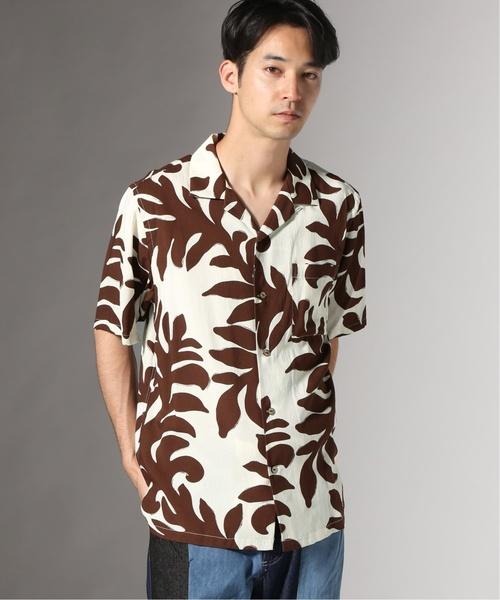大野智 嵐にしやがれ 8/10 衣装 JAMS / ジャムス : RAYON O/C シャツ