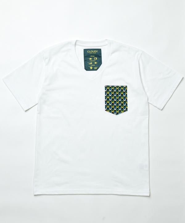 櫻井翔 嵐 私服  展覧会 Pocket T-SHIRTS Vneck 022