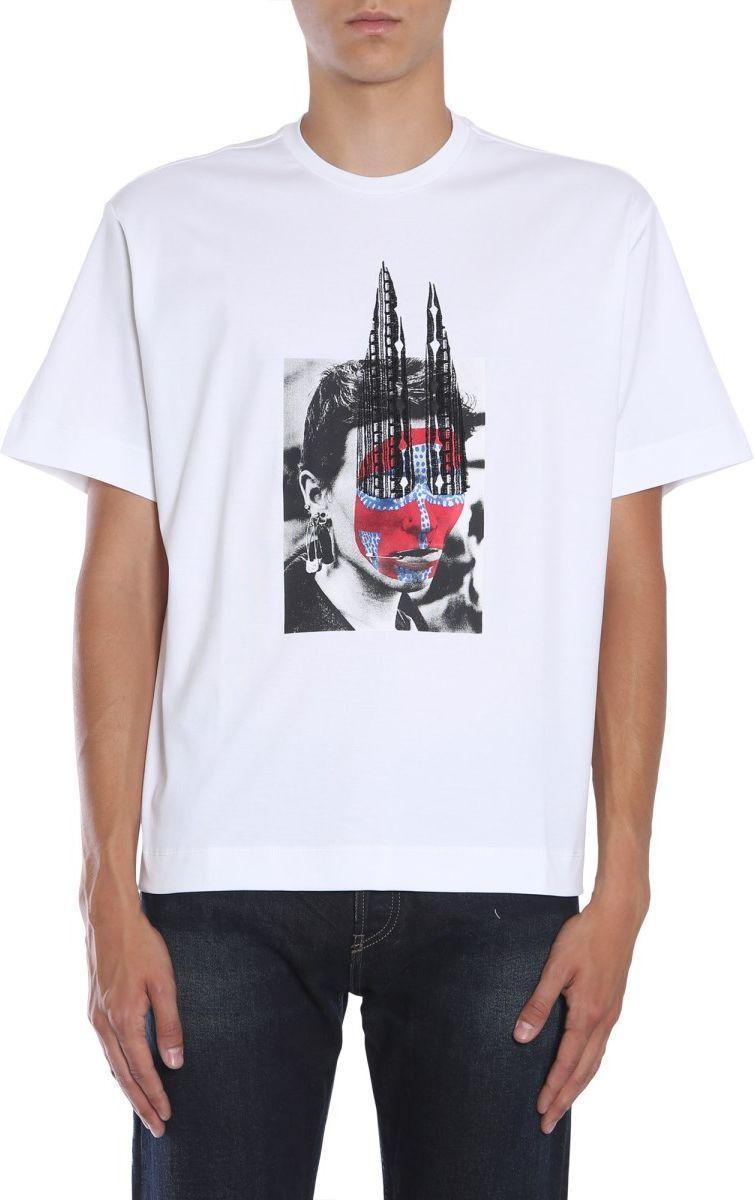 大野智 嵐 展覧会 私服 DIESEL B/G☆プリント TEORIAL-M8 REGULAR FIT コットン Tシャツ