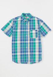 キンプリ 岸優太 Myojo 表紙 衣装 HOLLYWOOD RANCH MARKET JOURNEY マドラスチェック ボタンダウン ショートスリーブシャツ