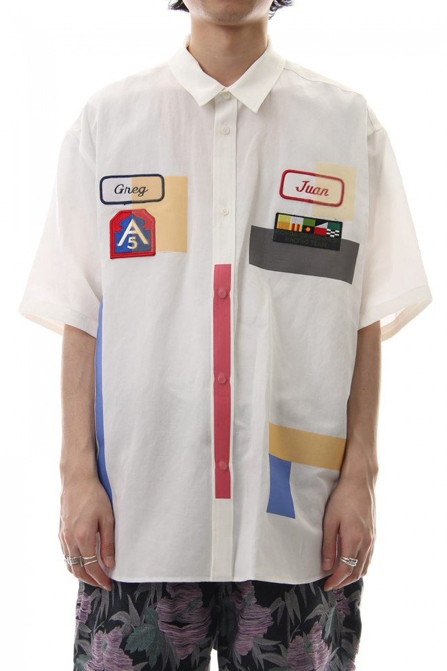 二宮和也 VS嵐 8/22 衣装 amok tape shirt