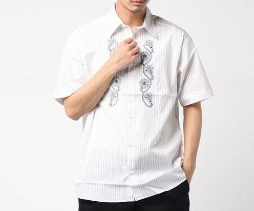 玉森裕太 衣装 少クラプレミアム ritrovo(リトロボ)刺繍シャツ