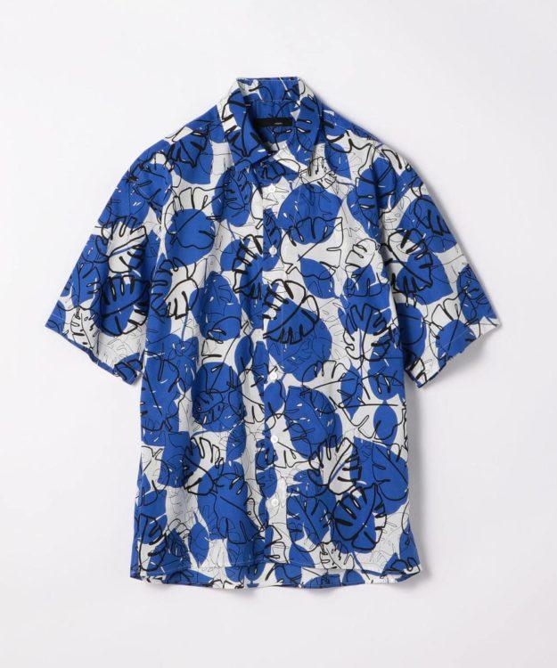 櫻井翔 嵐にしやがれ 8/10  衣装 KNOTT MEN モンステラプリント サファリシャツ