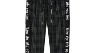 櫻井翔 VS嵐 9/5 衣装 CHORD#8(コードナンバーエイト) サイドラインチェックパンツSIDE LINE CHECK CROPPED PANTS