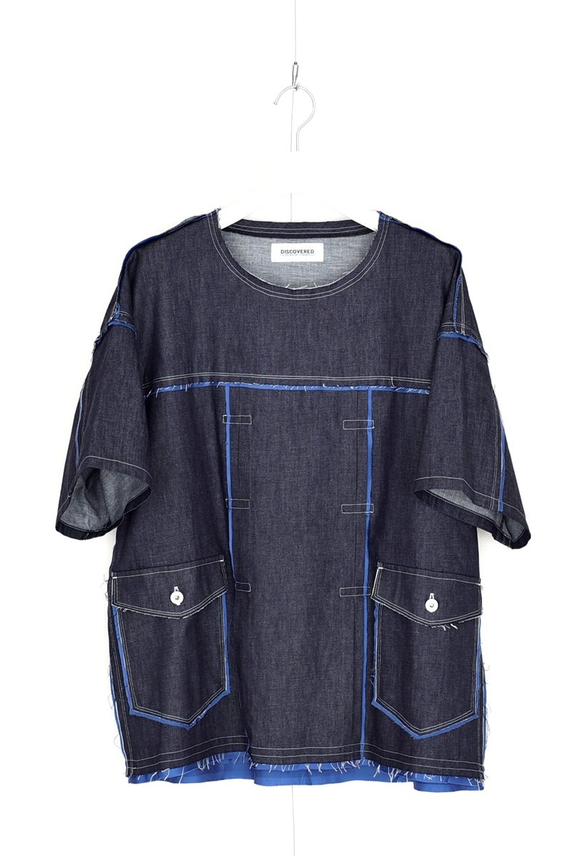 藤ヶ谷太輔 TVガイド 衣装 DISCOVERED CUT OFF DENIM PULLOVER