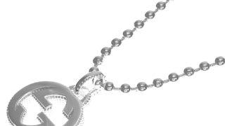 中島健人 私物 ネックレス Gucci Interlocking necklace