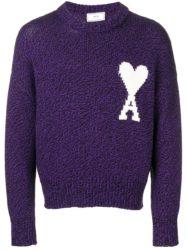 平野紫耀 仰天ニユース 衣装 ニット AMI PARIS オーバーサイズ ムーリーヌ AMI DE COEUR セーター