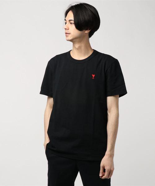 知念侑李 私服 duet ami alexandre mattiussi (アミ アレクサンドル マテュッシ) / AMI DE COEUR Tシャツ
