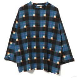 松本潤 嵐にしやがれ 9/28 衣装 International Gallery BEAMS mii × I.G.BEAMS / 別注 CHECK カフタンシャツ