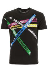 髙地優吾 THE夜会 衣装 DSQUARED Multi color Tシャツ