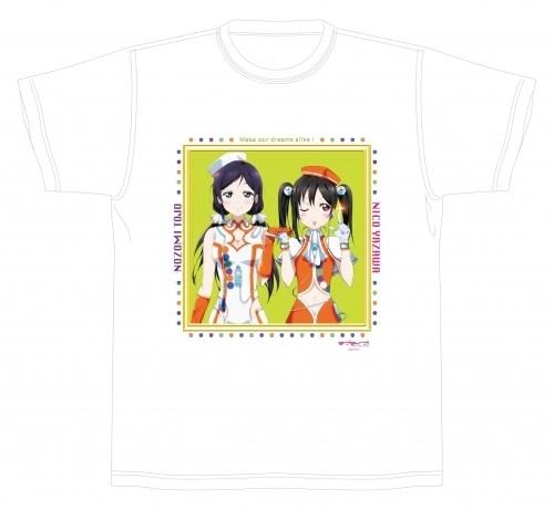 佐久間大介 私服 ラブライブ! Tシャツ 「にこ&希」