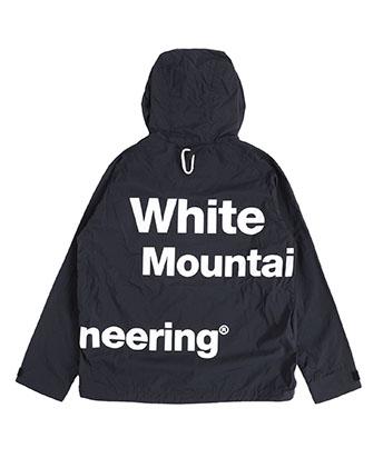 二宮和也 VS嵐 10/17 衣装 White Mountaineering ロゴプリントマウンテンパーカー