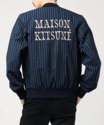 永瀬廉 私服 RIDE ON TIME :MAISON KITSUNE STRIPES SEERSUCKER TEDDY