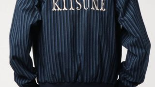 永瀬廉 私服 RIDE ON TIME :MAISON KITSUNE STRIPES SEERSUCKER TEDDY