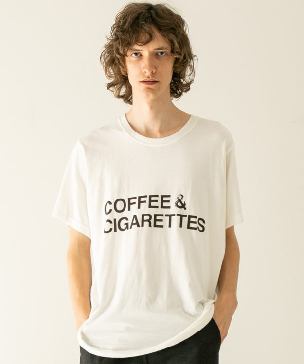 二宮和也 11/28 VS嵐 衣装 FACTOTUM COFFEE AND CIGARETTES プリントティー