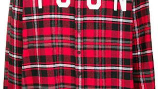 八乙女光 ヒルナンデス 11/12 衣装 DSQUARED2 Icon plaid shirt