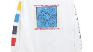 宮近海斗 Travis Japan 私服 WELCOME LONG SLEEVE ウェルカム 長袖Tシャツ SEANCE スケートボード スケボー SKATEBOARD